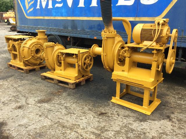 Linatex pumps